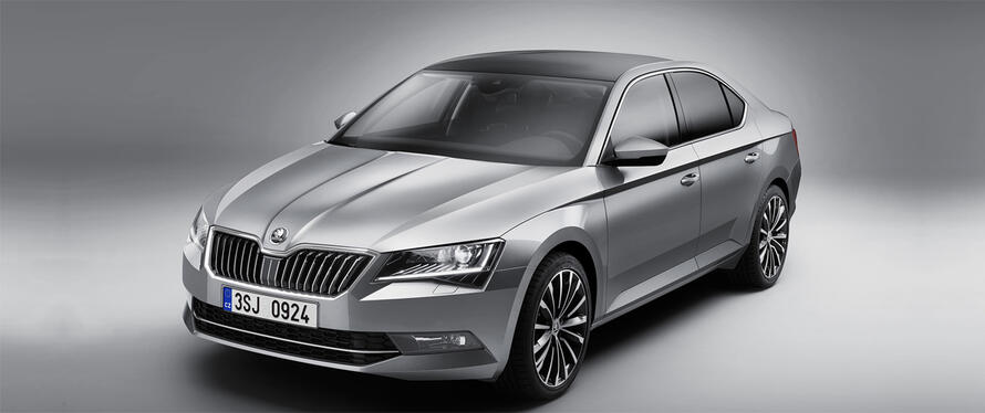 Skoda Superb New