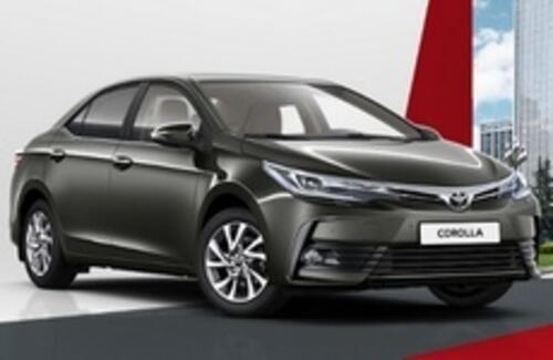 Toyota Corolla - от 833 000 рублей*