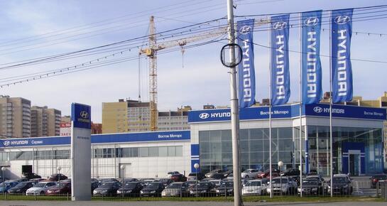 Восток Моторс Hyundai, Тюмень, III Заречный мкр., ул. Алебашевская, 11