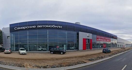 Nissan на Московском шоссе, Самара, Московское ш. 7, 19 км