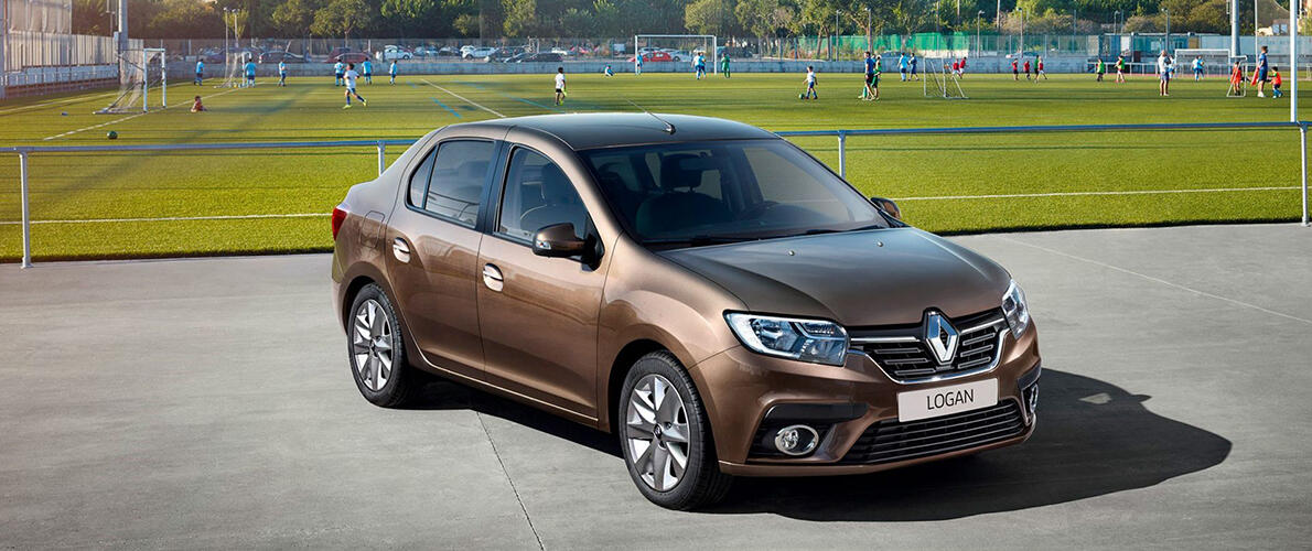 renault logan new тюмень