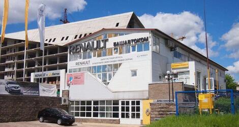 Башавтоком Renault на Юлаева, Уфа, пр-т Салавата Юлаева, 41