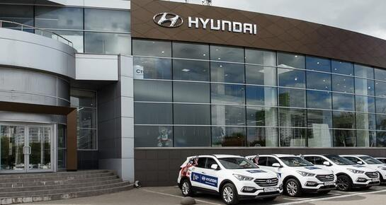 Hyundai АГАТ на Родионова, Нижний Новгород, ул. Родионова, 203