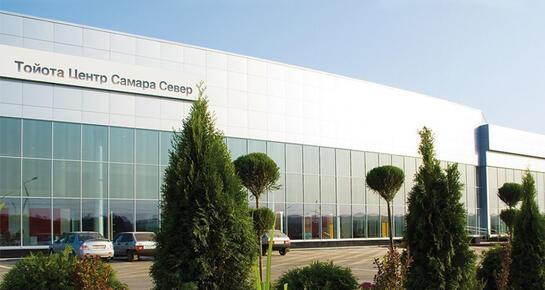 Тойота Центр Самара Север, Самара, п. Мехзавод, 24 км Московского шоссе, 3, строение 1