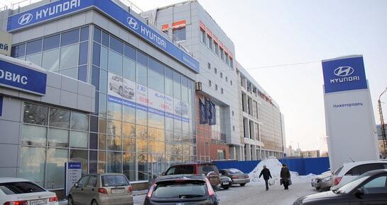 Нижегородец Hyundai, Нижний Новгород, Московское шоссе, 34