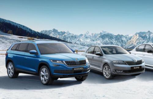 Специальные предложения на покупку автомобилей ŠKODA в феврале