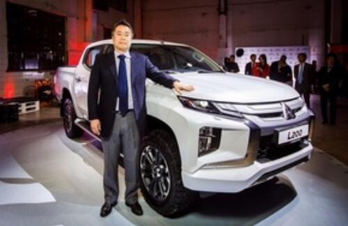 Mitsubishi Motors в России объявила цены на новый пикап L200