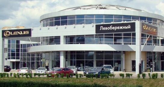Лексус Левобережный, Москва, г.о. Химки, мкр. Левобережный, 78 км МКАД (внешняя сторона), владение 2