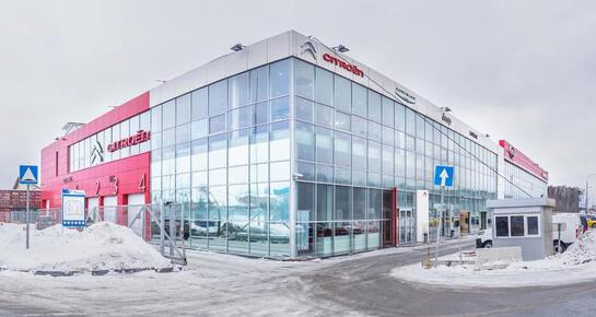Citroen АвтоГЕРМЕС, Москва, МКАД 44 км д. 1, внешняя сторона